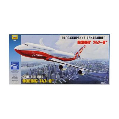 ZVEZDA ズベズダ 1/144 ボーイング 747-8 CIVIL AIRLINER