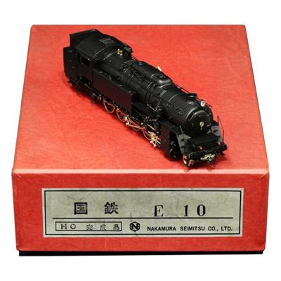 中村精密 HOゲージ 国鉄 E10 蒸気機関車 完成品