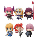 マンガで分かる!Fate/Grand Order トレーディングフィギュア 全6種