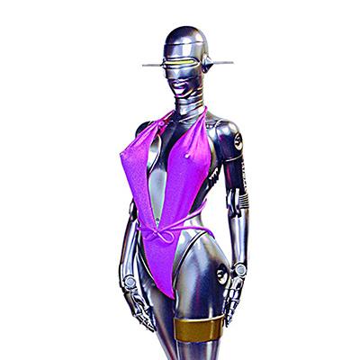 ファンタジーフィギュアギャラリー セクシーロボット001 ピンク水着 1/4スタチュー