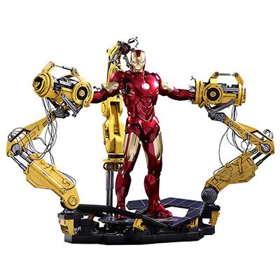 ムービーマスターピースダイキャスト アイアンマン2 アイアンマン・マーク4 1/6スケールフィギュア パワードスーツ装着機付き
