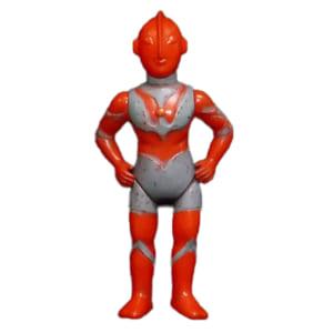 ブルマァク ウルトラマン 赤顔 酔っぱらいウルトラマン 当時物 / ウルトラマン ソフビ人形