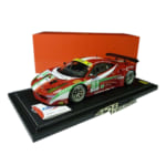 BBR 1/18 フェラーリ 458 GT2 GTE PRO ル・マン 2012 / 赤