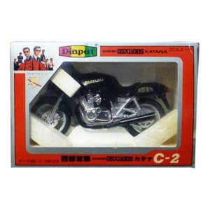 ダイヤペット 1/17 西部警察 スズキ GSX1100S C-2 カタナ/舘ひろし