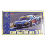 エブロ 1/18 ZENT アウディ R8 LMS スーパーGT 300 2012