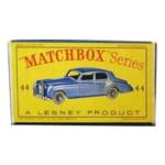 MATCHBOX No.44 ロールスロイス シルバークラウド