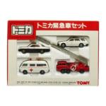 トミカ 日本製 緊急車セット 4台入