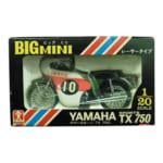 239246ヴィンテージミニカー 旧バンダイ 1/20 ビッグミニ ヤマハスポーツ TX750 レーサータイプ