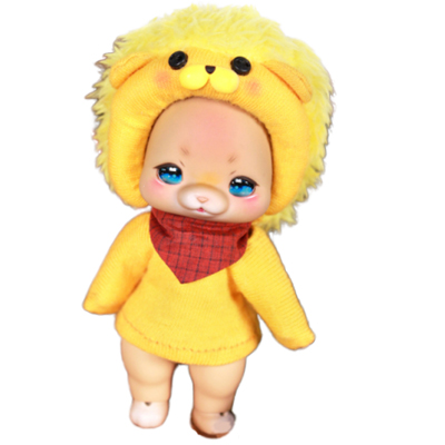 COCORIANG ココリアン DOLK×Cocoriang 限定 Poi Pizzly lion set / Open Eye