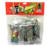 ぶたのはなソフト焼き玩具 怪獣シリーズ ゴジラ メカゴジラ ジェットジャガー セット