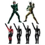 SHODO 仮面ライダーVS PB01 仮面ライダーシン&Jセット プレミアムバンダイ限定
