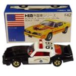 239331トミカ 青箱 外国車シリーズ F42 トランザム アメリカンポリスカーフェア用 A