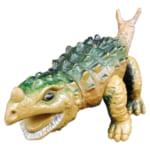 大協 生きていた恐竜と怪獣 スコロザウルス /大協 ソフビ人形