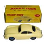 ポルシェミニカー DINKY 182 ポルシェ 356A クーペ クリーム色