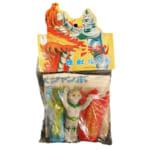 大里玩具 ミラーマン 怪獣指人形 /ソフビ指人形