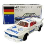 240096別注トミカ 青箱 ジタン No.F30 BMW 3.5CSL ホワイト