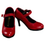 242477DOLL MORE ドールモア SD high heels Basic Shoes Red