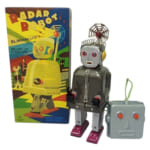 244939TIN TOM TOYS ブリキ レーダーロボット リモコン/ブリキのロボット
