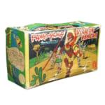 244923東京プレイシング商会 ブリキ パンゴパンゴ アフリカンダンサー ゼンマイ /ブリキの人形