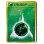 241867ポケモンカード XY-P プロモ 20thアニバーサリーフェスタ 基本草エネルギー (ファーストデザイン仕様)