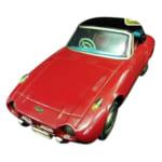 アサヒ玩具 ブリキ トヨタスポーツ800 フリクション ヨタハチ/ブリキの車・自動車