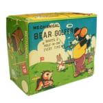 244588東京プレイシング商会 ブリキ MECHANICAL BEAR GOLFER 熊のゴルファー ゼンマイ