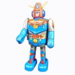 245034ポピー ブリキ あるくあるく ゼンマイロボット 超電磁ロボ コン・バトラーV