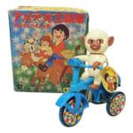 クローバー ブリキ 母をたずねて三千里 アメデオ 三輪車 ゼンマイ /ブリキ玩具