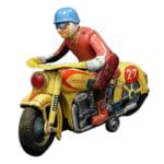 245149マスダヤ ブリキ オートバイ 電動/マスダヤ(増田屋)