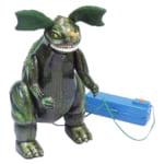 マルサン ブリキ バラゴン 電動リモコン/ゴジラシリーズ