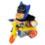 珍品 ブリキ パチ バットマン風 三輪車 ゼンマイ /ブリキ玩具