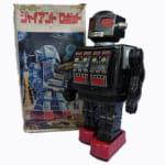 245100堀川玩具 ブリキ スーパージャイアントロボット 電動