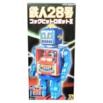 24426650台限定 大阪ブリキ 鉄人28号 コックピットロボットII 黒 電動