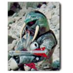 カルビー 仮面ライダーV3カード No.411 ウォーターガントドの武器