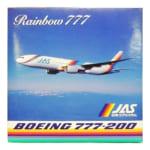 JAS 1/400 日本エアシステム レインボーセブン B777-200 JA8977