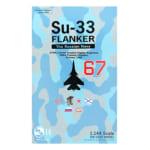 戦闘機模型 S14 1/144 Su-33 Flanker #67