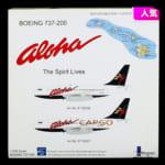 インフライト 1/200 アロハ航空 B737-200 N817AL