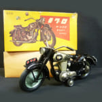 バンダイ メグロ オートバイ 500cc スタミナ 黒 フリクション