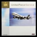 ビッグバード 1/400 ボーイング B747-100 UPS