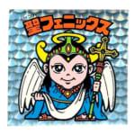 ビックリマン 悪魔VS天使シール 第4弾 聖フェニックス (幼少) 逆扇プリズム エラーシール