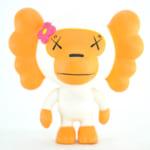 A BATHING APE × KAWS ソフビ COO / ホワイト カウズ マイロ