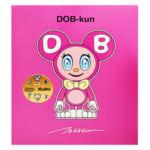 MoMA Design Store 限定 DOB‐kun フューシャ ピンク / 村上隆