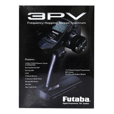 フタバ EPカー用 プロポセット 3PV 2.4G T/Rセット T3PV R314SB-E