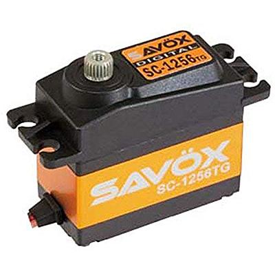 SAVOX SC-1256TG ハイトルク コアレス デジタルサーボ