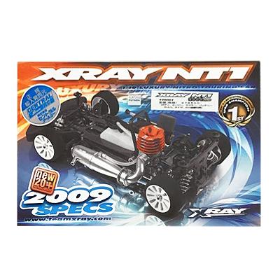 CENTRAL セントラル RC 1/10 XRAY NT1 2009 SPEC