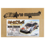 アオシマ 1/10 RC 痛車ボディーセット No.2 クイーンズブレイド AE86 トレノ