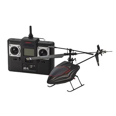 京商 EGG 4ch R/C ヘリコプター ブラックスワロー ネクスト