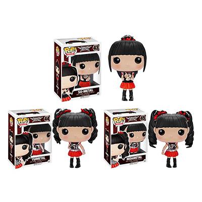 FUNKO POP! Rock BABYMETAL 全3種 SU-METAL YUIMETAL MOAMETAL