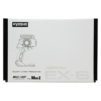 京商ミニッツ MINI-Z MHS/ASF コンパチブル 2.4GHzシステム送信機 Syncro EX-6