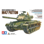 タミヤ 1/35 ドイツ連邦軍戦車 M47パットン